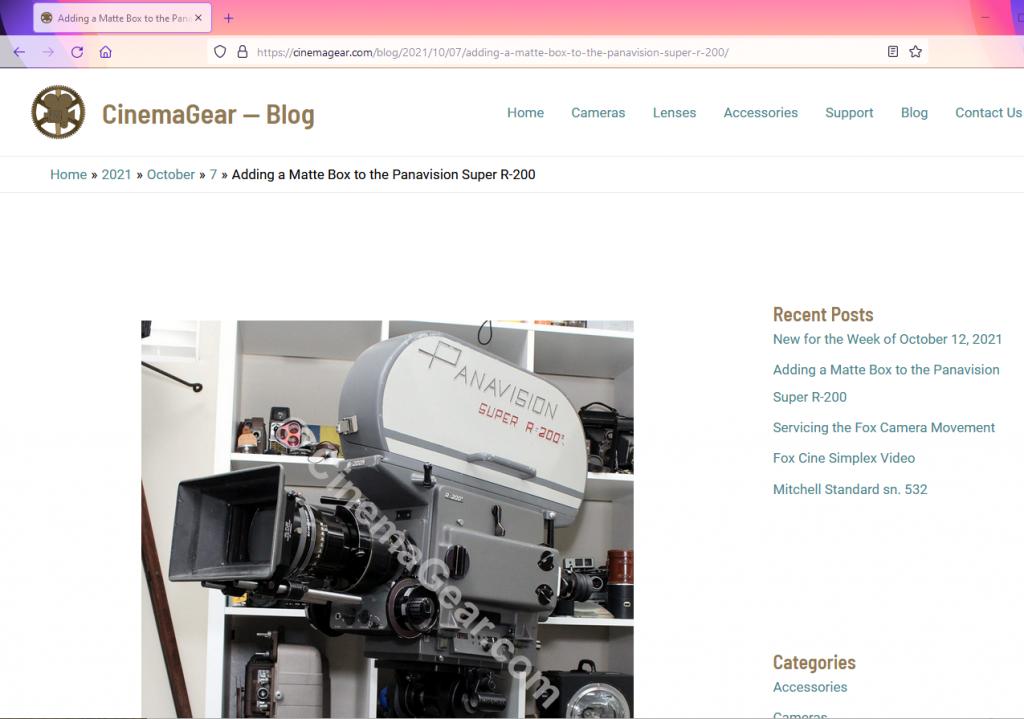 Blog Introduction Screenshot